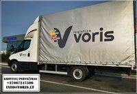 Krovinių pervežimas tarptautiniais maršrutais Lietuva - Europa -