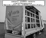 Standartinių krovinių pervežimas (pilni kroviniai) +37067247506