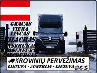 LIETUVA - AUSTRIJA - LIETUVA ( AU )  Galime parvežti jūsų