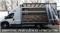Meno kūrinių gabenimas LIETUVA-EUROPA-LIETUVA +37067247506