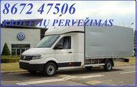 Mes teikiame visas perkraustymo, krovinių pervežimo paslaugas