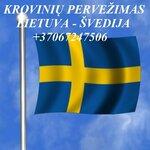 Tarptautiniai perkraustymai Lietuva-Švedija-Lietuva