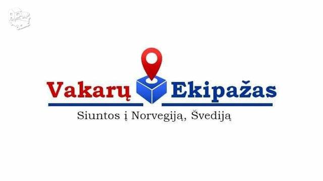 Siuntiniai į Norvegija, Švedija