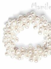 Puošnios perlų gumytės plaukams dovanų dėžutėse