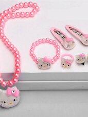 Papuošalų rinkinys Hello Kitty, 6 dalys