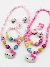 Papuošalų rinkinys Hello Kitty, 4 dalys