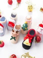 3D Kalėdinės kūdikio kojinaitės