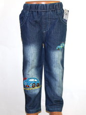 Patogios kelnės-džinsai berniukams tik po 5,80 eur.