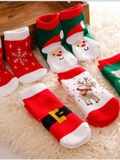 Kalėdinės vaikiškos kojinaitės, 3-5 metų vaikams