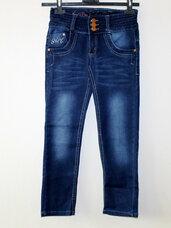 Nauji kapri džinsai mergaitei su nedideliu defektu