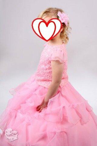 Prabangi suknelė 4-8metų (122-128cm) mergaitei