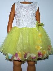 Pūstos, puošnios TUTU suknelės mergaitėms