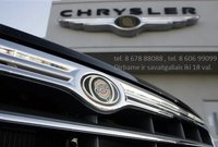 Chrysler Dalimis Naudotos Chrysler Dalys Naujos