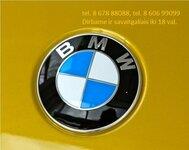 BMW 3 klases dalimis Vilniuje. Bmw naudotos autodalys