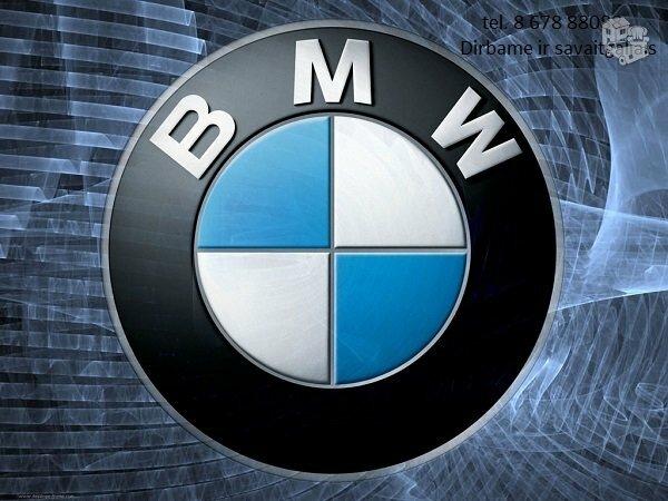 Bmw 5 E61 dalimis