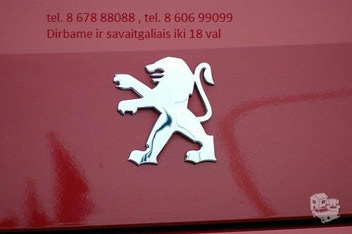 Peugeot 108 dalimis