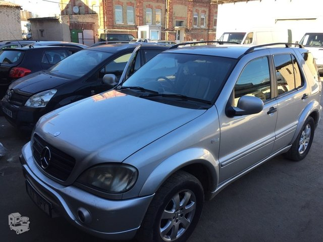 Mercedes-Benz ML 270 W163 2001 m dalys