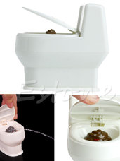 Naujas zaislas tualetas su vandens srove unitazas