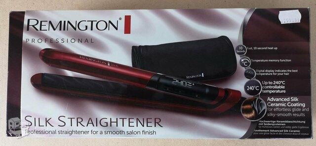 Remington plaukų tiesintuvas, neveikiantis. Tinkamas dalims arba