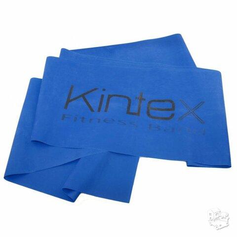 Juosta mankštai Kintex, mėlyna, 1,8m.