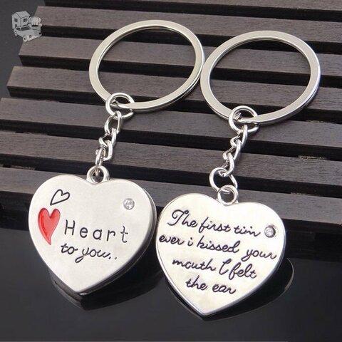 """Raktų pakabukai Jai ir Jam """"Heart To You"""""""