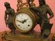 Įspūdingas antikvarinis laikrodis