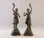 Prancūziškos XIXa. pab. statulėlės