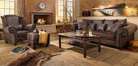 Didelė sofa 3+3+fotelis+pufas Nr41
