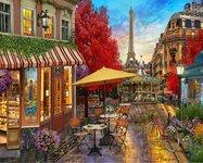 """Tapybos pagal skaičius rinkinys """"Paris"""", 40x50 cm"""