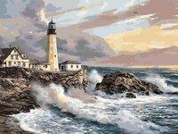 """Tapybos pagal skaičius rinkinys """"Lighthouse"""""""
