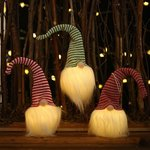 Šviečianti LED kalėdinė dekoracija Gnomas