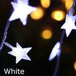 """LED grilianda """"Žvaigždės"""", 3 metrai"""