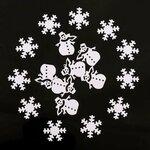 Kalėdinė dekoracija - konfeti, 10 gr.