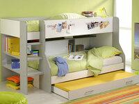 Nauja dviaukštė lovytė- vaikiška lova