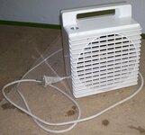 Šiltą orą pučiantis šildytuvas