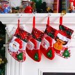 3D kalėdinė kojinė, 25cm
