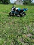 Mini elektrinis motociklas