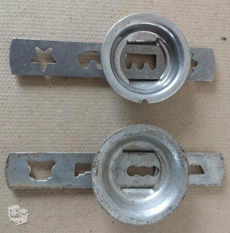 Formelės iš aliuminio. Kaina 5 eur už abi.