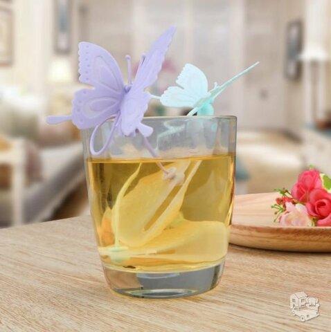 """Silikoninis arbatos sietelis """"Butterfly"""""""