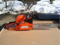 Nauji galingi benzopjūklai ERMAN HM 5201 +dovana