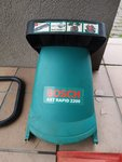 Smulkintuvo Bosch Axt Rapid 2200 dalys