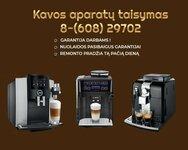 Kavos aparatų remontas Fabijoniškėse