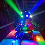 """LED šviesos efektas JUDANTI GALVA """"BALL"""" (120W)"""