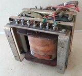 Transformatorius TR-2/077/07/76, aukštis 14 cm, plotis 16 cm,