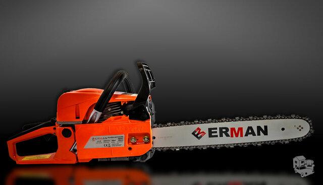 Naujas benzininis pjūklas ERMAN HM - Super kaina