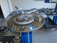 Metalo stakles dekoratyvinei kalvystei K2