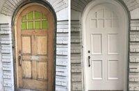 Durų restauravimas (atnaujinkite vidaus, lauko duris)
