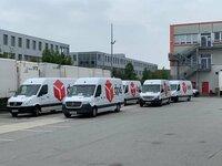 Darbas Vokietijoje vairuotojams(B) DPD kurjeriu tarnyboje.