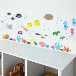 """Sienos lipdukas """"Underwater Sea Fish"""""""