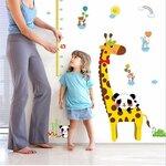 """Ūgio matuoklė """"Žirafa ir pandos"""", 150x120cm"""